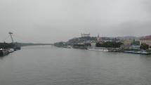 Sychravá a upršaná Bratislava