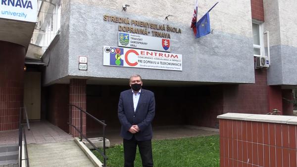 Deň otvorených dverí na Strednej priemyselnej škole dopravnej v Trnave 2021
