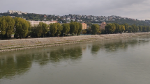 Dnešná Bratislava z mosta Lanfranconi