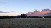 Dobré ráno z Vysokých Tatier