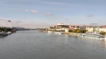 Krásny slnečný deň v Bratislave