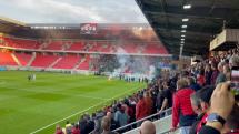 Potička fanúšikov Spartak - Slovan
