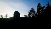 Podvečerný pohľad na Chopok