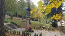 Nova Baňa farebná jeseň