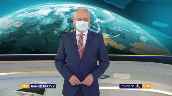 RTVS odvysielala ďalšie zábery od iReportérov v Ranných správach RTVS
