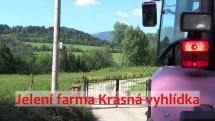 Výlet do Dětřichova u Jeseníku na jelení farmu