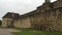 Mestské hradby v Levoči.