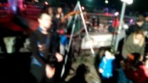 Lampióny na Námestí slobody v Bratislave