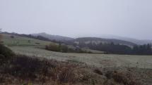 Prvé sneženie v okolí Brezna