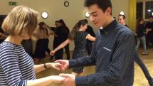 Tanečný krúžok - príprava na venček