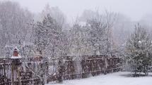 Hustota sněžení se stupňuje, Ašsko