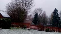 Sníh ve východních Čechách