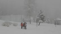 Zimné radovánky deti zo Šrobarovho ústavu vo Vysokých Tatrách -  Dolnom Smokovci