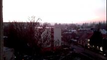 Západ slnka v Nitre
