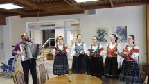 """Rusínska dievčenská spevácká skupina """"Vorodaj"""""""