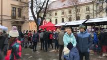 Vianočné trhy v Levoči.