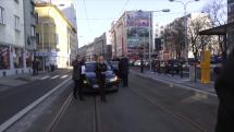 TB Kolaudácia električkovej trate na Špitálskej ulici