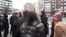 Bratislava: Cez Špitálsku ulicu opäť jazdia po takmer polroku električky