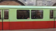 Metro v Pchjongjangu