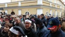 Zpívání koled na Malé Straně v Praze
