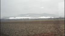 Tribeč stále pod snehom