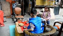 Nedělní oběd v uličce Vzácného klidu, Čína