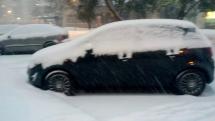 Sneh v Trenčíne