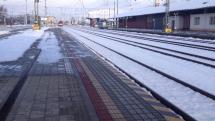 R606 v stanici Trenčianska Teplá