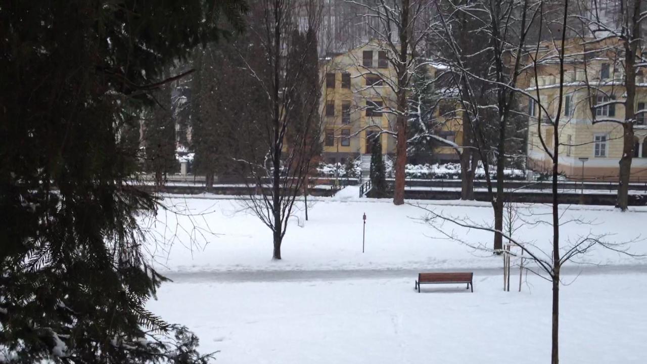 Zimné počasie v Trenčianskych Tepliciach