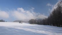 Po sněžení, Kunčice p. Ondřejníkem