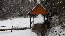 Ani počas zimy výdatné liečivé pramene nezamŕzajú