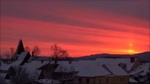 Zima v Novohradských horách 1