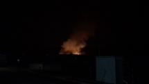požiar v Drietome