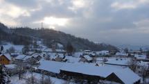 Studené dobré ráno v dolinách a dedinách Spišskej Magury