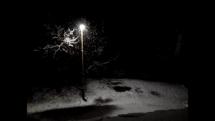 Intenzívne sneženie v Humennom