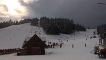 Nedeľa na lyžiarskom kopci