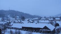 Pondelok - 5. február 2018 - Zamračené, oblačno a sneženie v lokalite Vyšných Ružbách