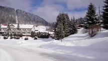 Dedink, Slovenský raj - nepretržitá snehová prikrývka od novembra