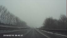 Sneženie v Banskej Bystrici