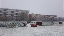 Batovka pod snehom