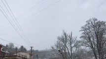 Levoca, pohľad na Mariánsku horu.