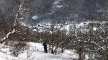 vyhlad na dedinku Priboj okr VK18.2.2018