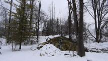Prírodný termálny vodopád