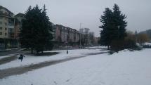 Nasnežilo v Bardejove