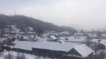 Mínusové teploty a sneženie Ružbachy
