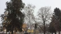 Sneženie v Šuranoch