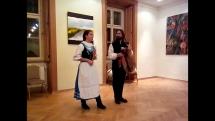 Vystúpenie moravských gajdošov v rámci Medzinárodného gajdošského festivalu