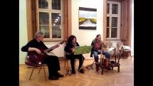Vystúpenie gajdošov z Berlína v rámci Medzinárodného gajdošského festivalu