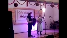 Medzinárodný gajdošský festival - Jedľové Kostoľany, vystúpenie gajdošov z Moravy