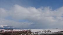 Tatry a dialnica D1 - smerom na Prešov z Popradu